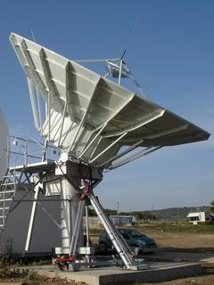 Антенны земных станций спутниковой связи и телевидения